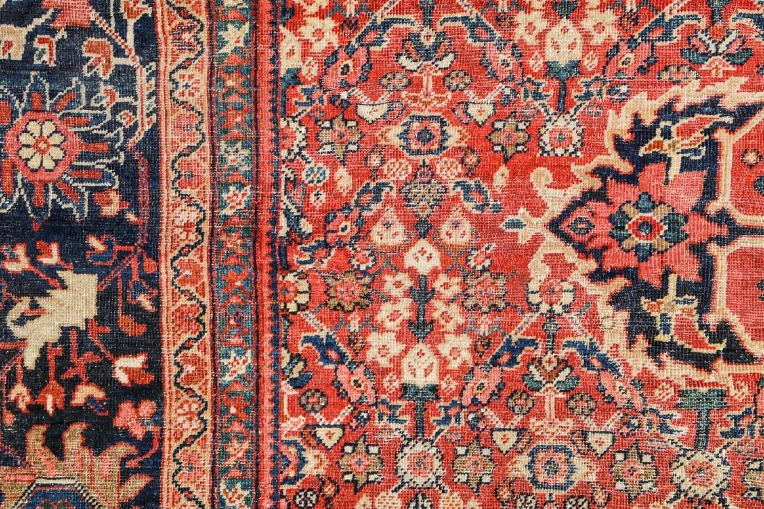 Antique Mahal Rug, Persia: 10'3'' x 13'7'' - 3