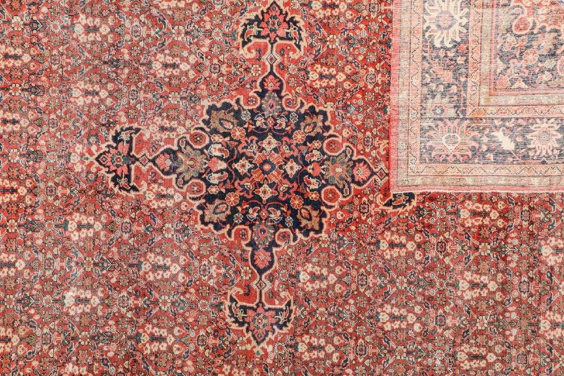 Antique Mahal Rug, Persia: 10'3'' x 13'7'' - 4