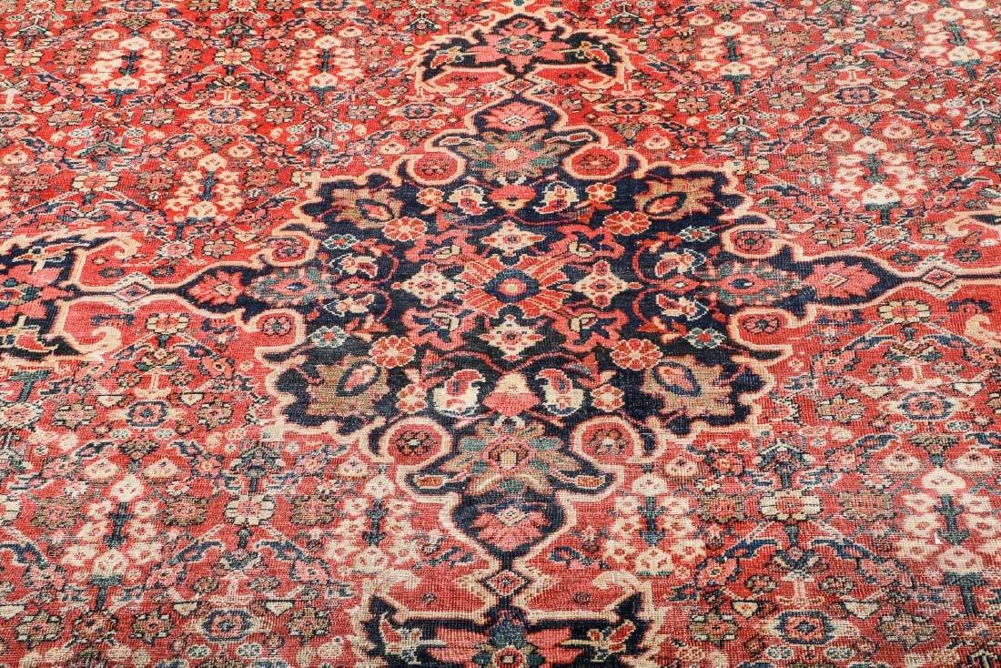 Antique Mahal Rug, Persia: 10'3'' x 13'7'' - 6