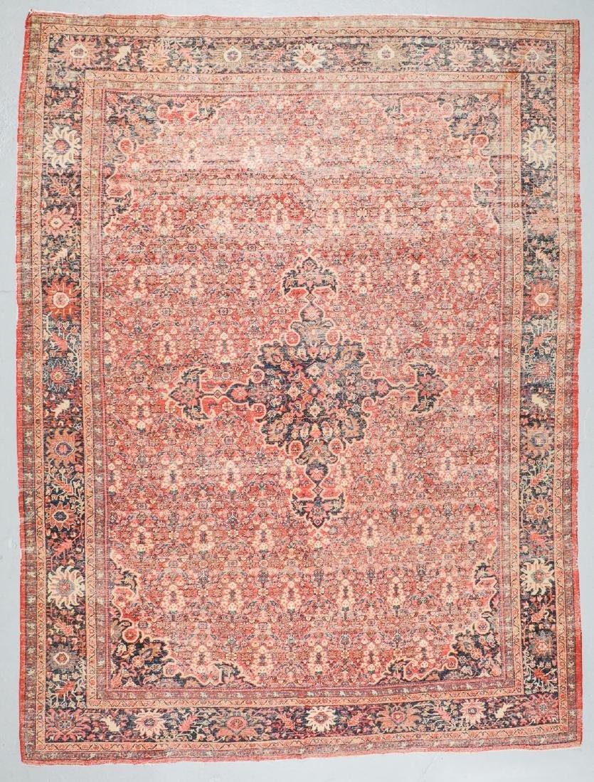 Antique Mahal Rug, Persia: 10'3'' x 13'7'' - 7