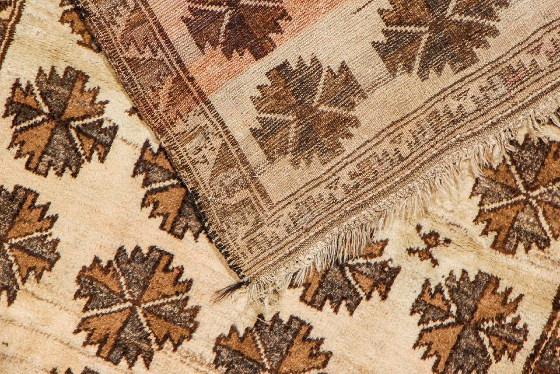 Antique Persian Kurd Rug: 3'9'' x 5'8'' - 4