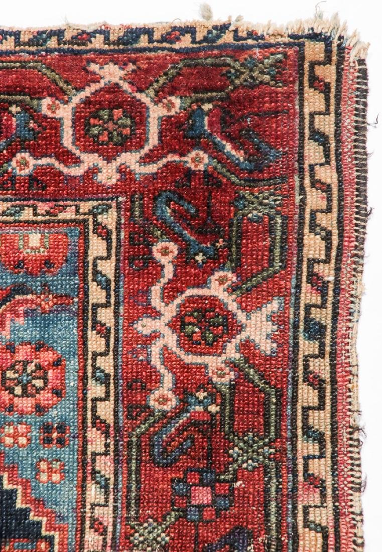 2 Antique Karadja and West Persian Rugs - 2