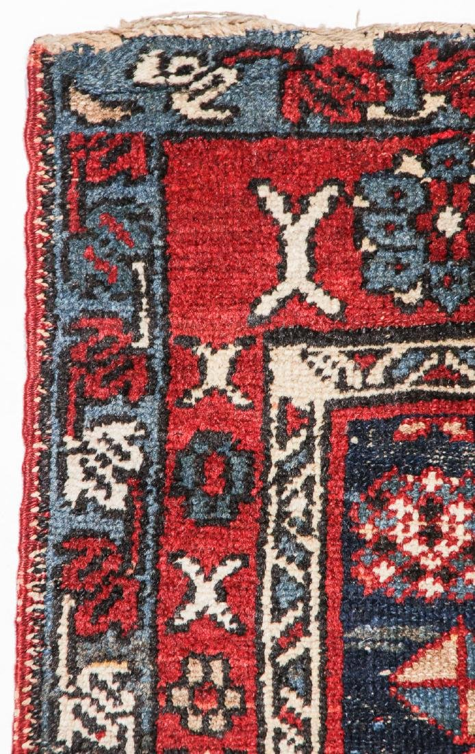 2 Antique Karadja and West Persian Rugs - 3