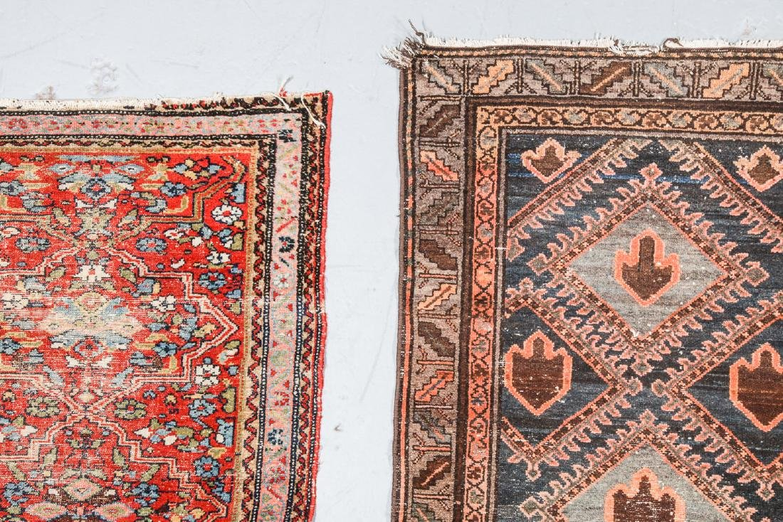 3 Antique West Persian Rugs - 3