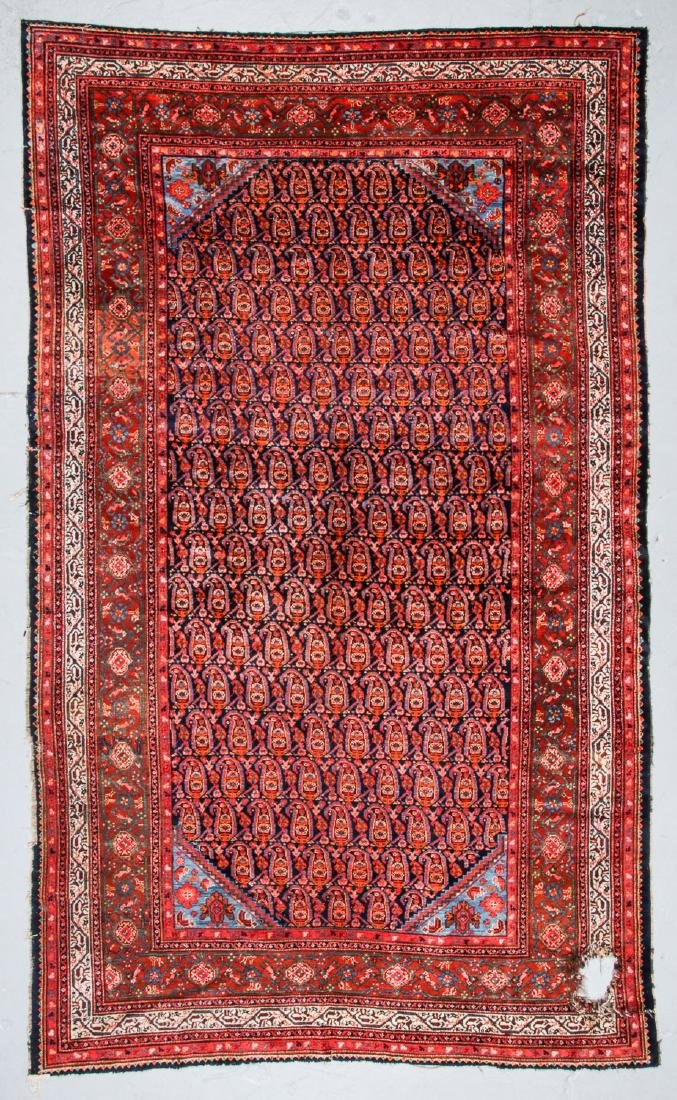 Antique Malayer Rug, Persia: 7'1'' x 11'8''