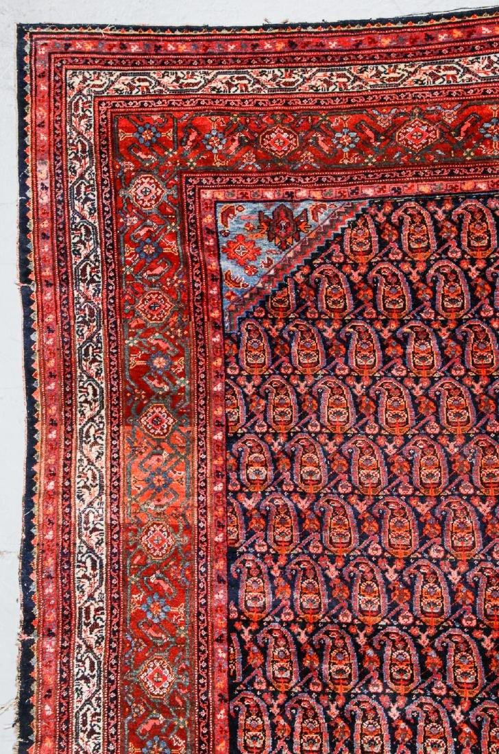 Antique Malayer Rug, Persia: 7'1'' x 11'8'' - 2
