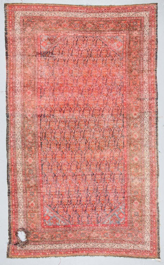 Antique Malayer Rug, Persia: 7'1'' x 11'8'' - 4