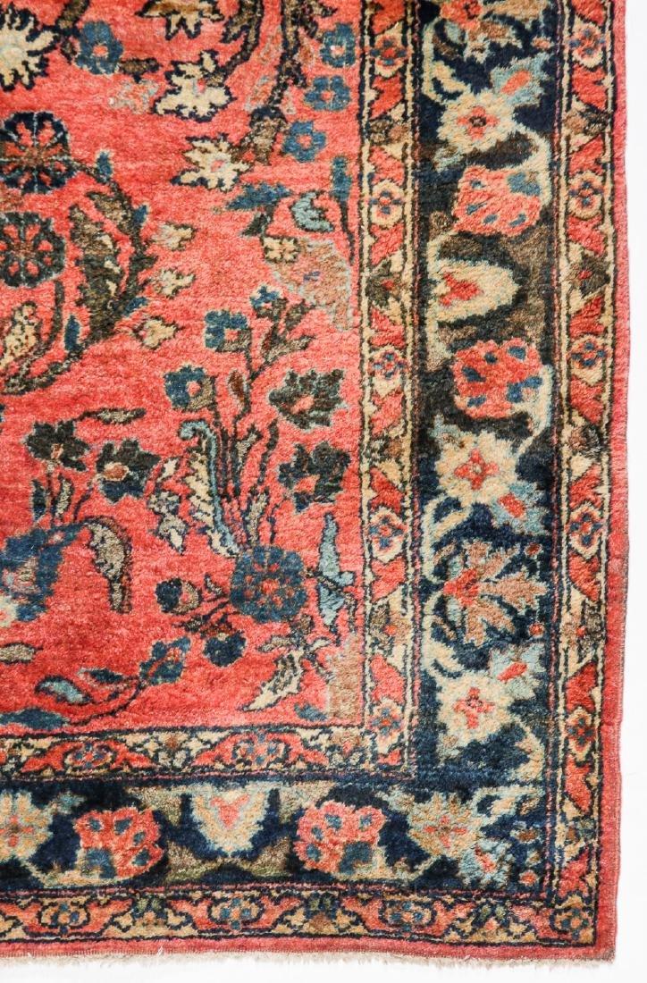 3 Antique Persian Sarouk Rugs - 2