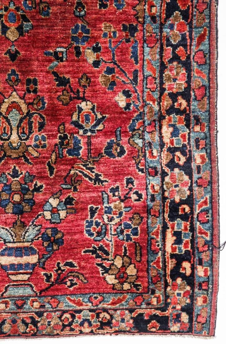 3 Antique Persian Sarouk Rugs - 3