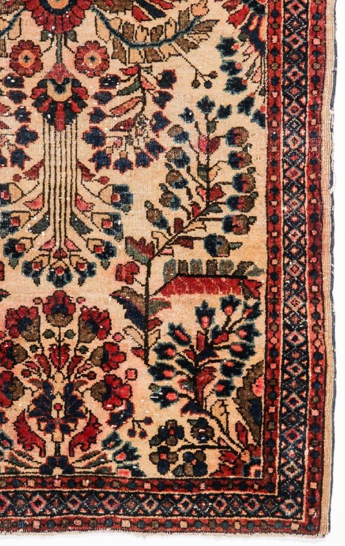3 Antique Persian Sarouk Rugs - 4