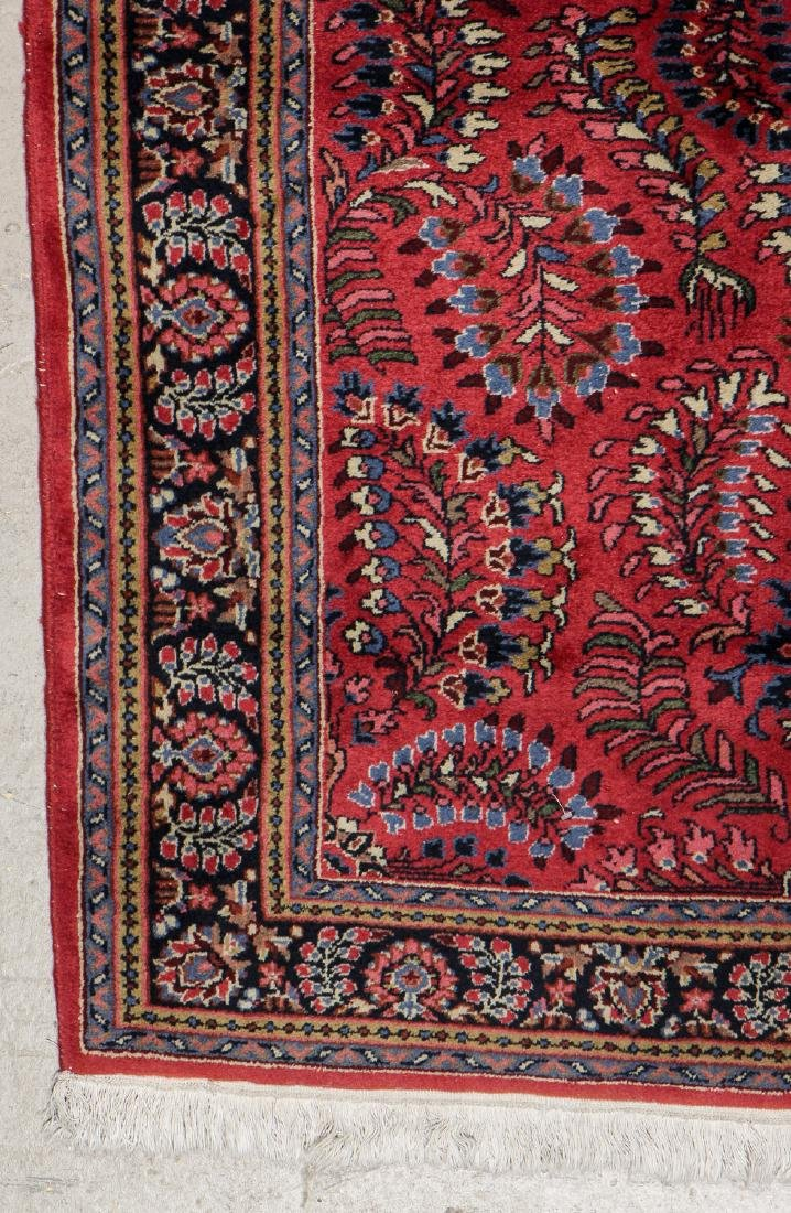 Vintage Sarouk Style Rug: 3'11'' x 6' - 2