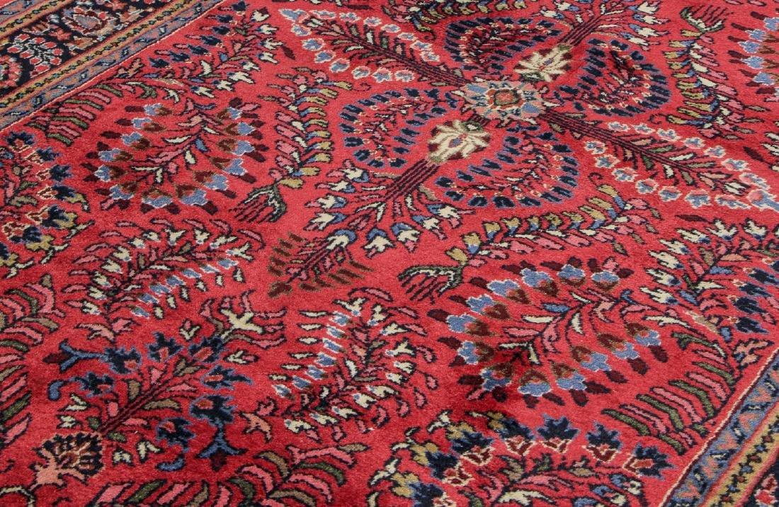 Vintage Sarouk Style Rug: 3'11'' x 6' - 3