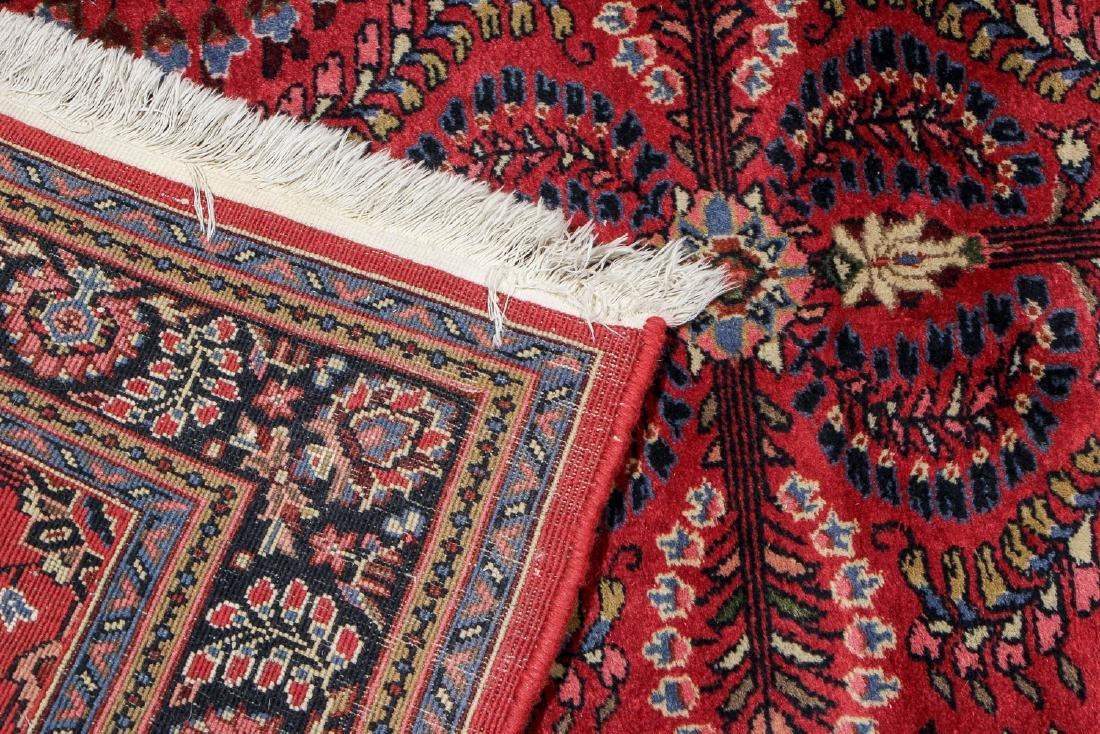 Vintage Sarouk Style Rug: 3'11'' x 6' - 4