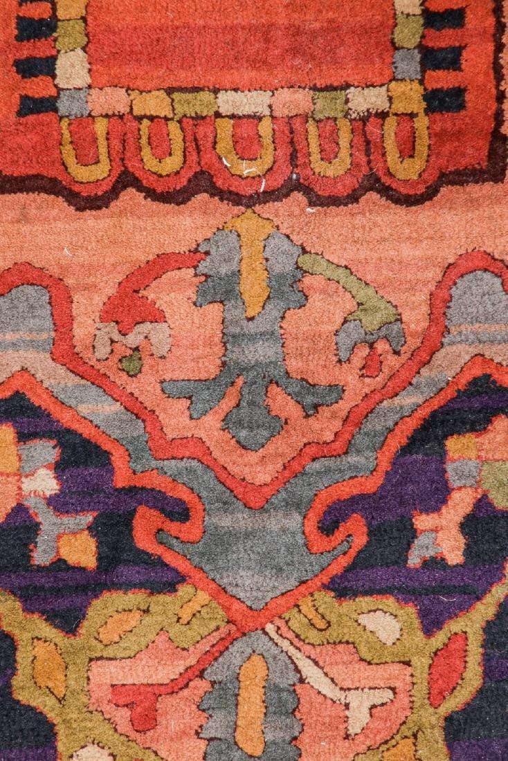 Antique Serapi Style Hooked Rug: 8'1'' x 11'1'' - 2