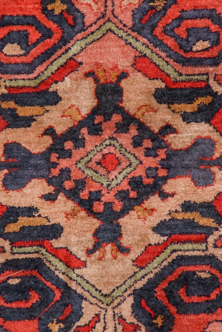 Antique Sumak Style Hooked Rug: 8'1'' x 11'5'' - 2