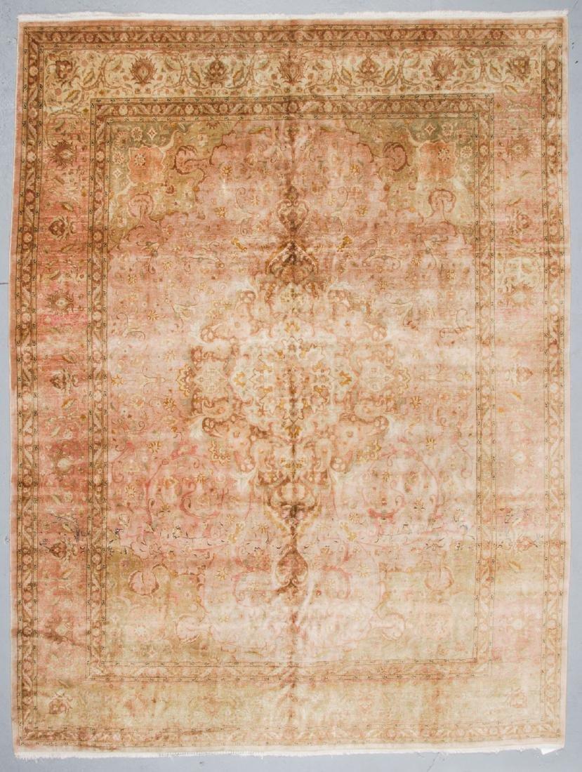 Semi-Antique Tabriz Rug, Persia: 9'10'' x 12'11''