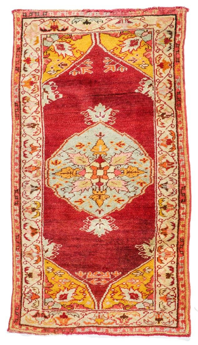 Estate Collection of 4 Antique Turkish Rugs - 2