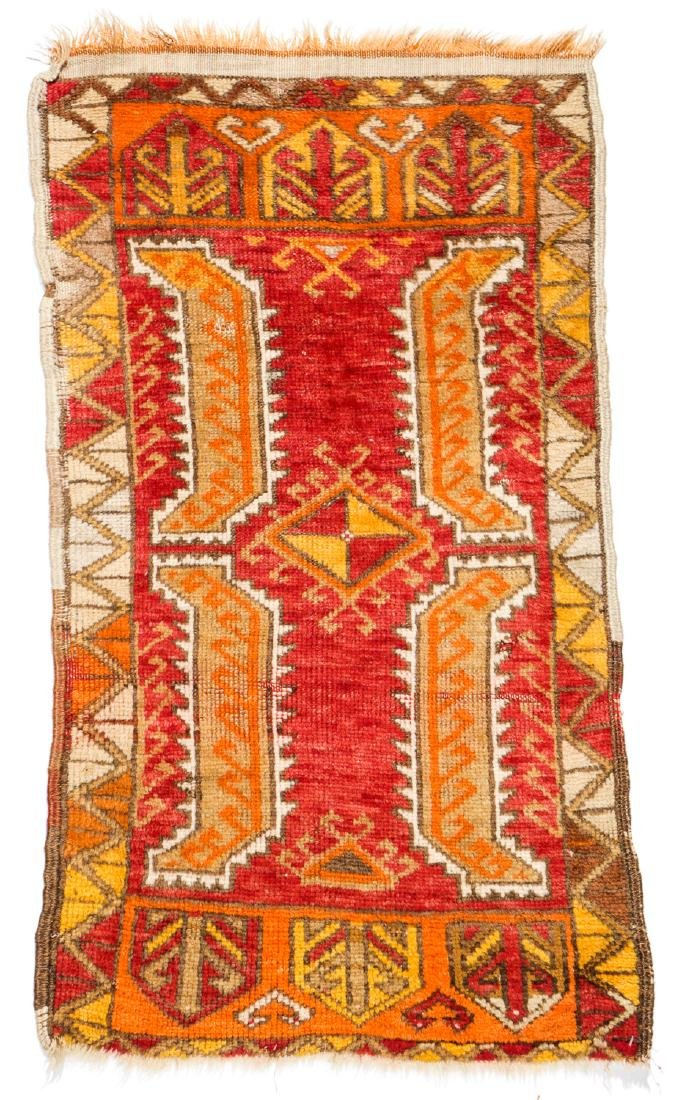 Estate Collection of 4 Antique Turkish Rugs - 3