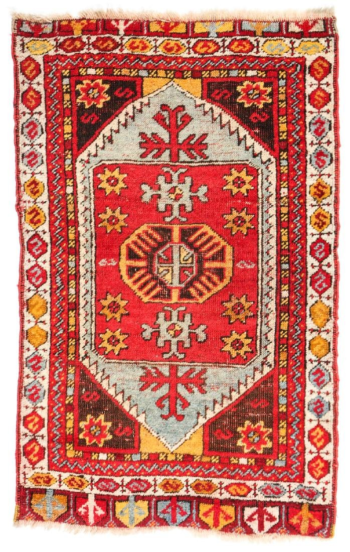 Estate Collection of 4 Antique Turkish Rugs - 4