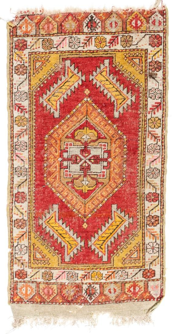 Estate Collection of 4 Antique Turkish Rugs - 5