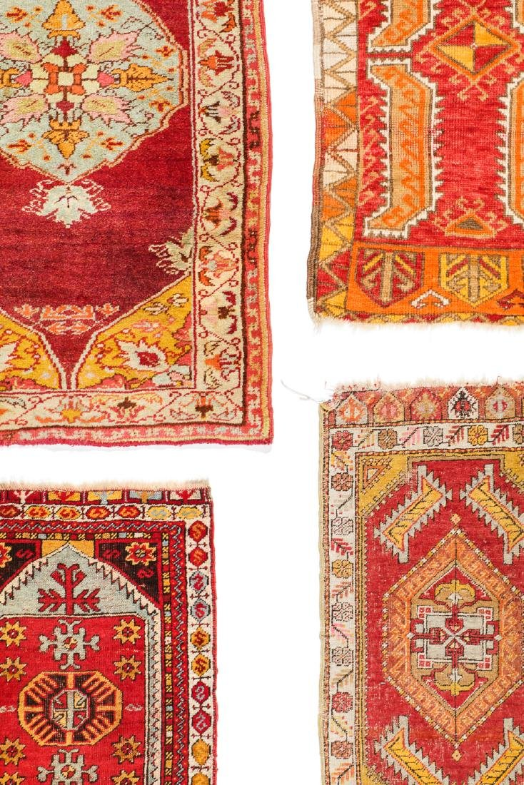 Estate Collection of 4 Antique Turkish Rugs - 6