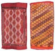 2 Antique Turkish Cicim Kilim Bags