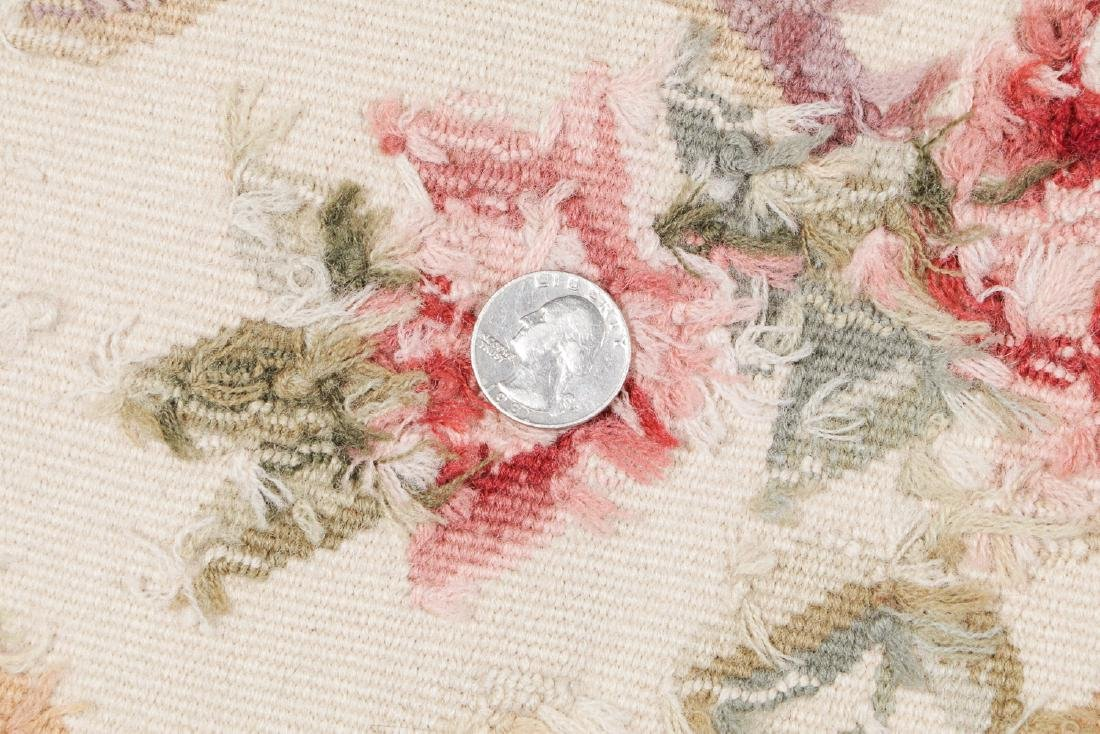 Aubusson Wool Tapestry Carpet: 119'' x 95'' - 5