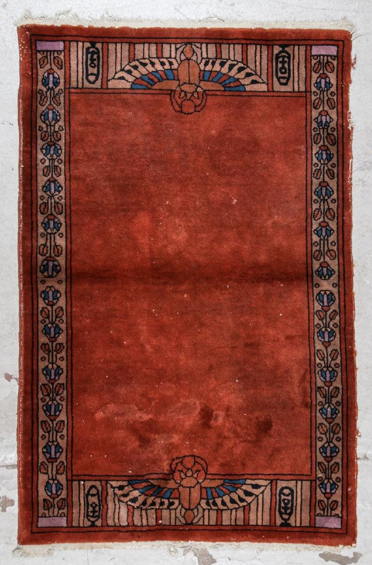Semi-Antique Arts & Crafts Rug: 3'6'' x 5'6''