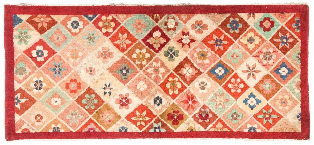 Estate Grouping of 4 Antique Chinese/Tibetan Rugs - 2
