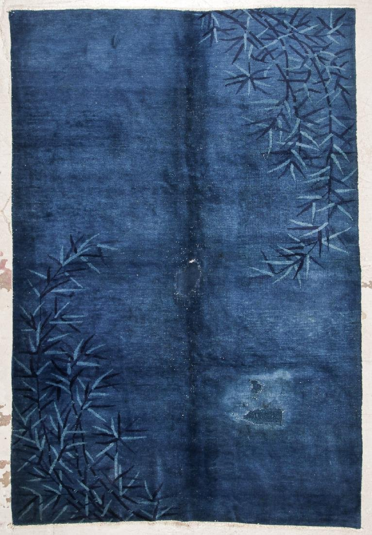 Estate Grouping of 4 Antique Chinese/Tibetan Rugs - 4