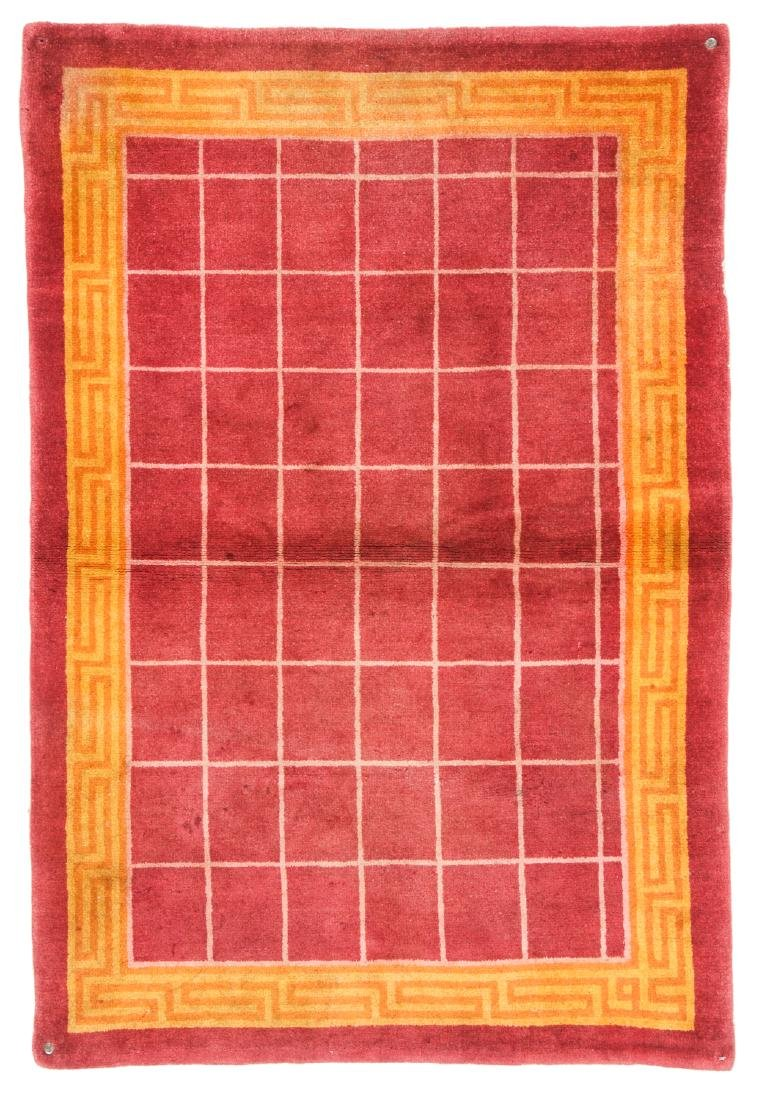 Estate Grouping of 4 Antique Chinese/Tibetan Rugs - 7