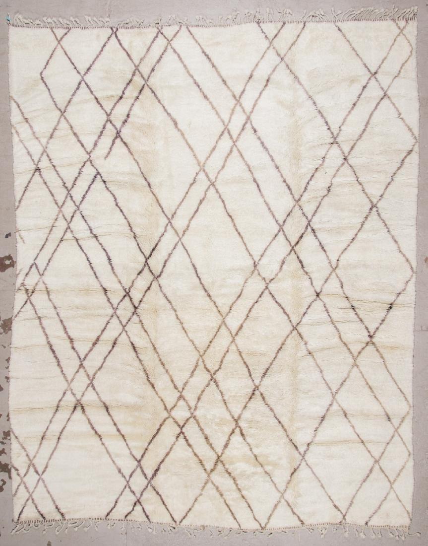 Modern Beni Ourain Rug: 9'7'' x 11'10''