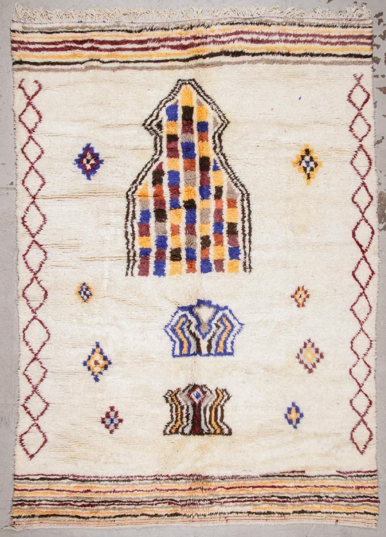 Vintage Moroccan Rug, Morocco: 8'5'' x 11'9''
