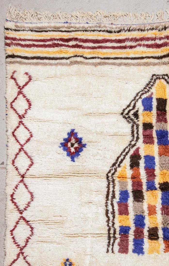 Vintage Moroccan Rug, Morocco: 8'5'' x 11'9'' - 3
