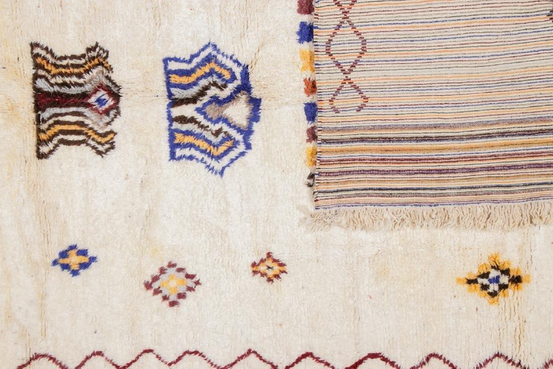 Vintage Moroccan Rug, Morocco: 8'5'' x 11'9'' - 4