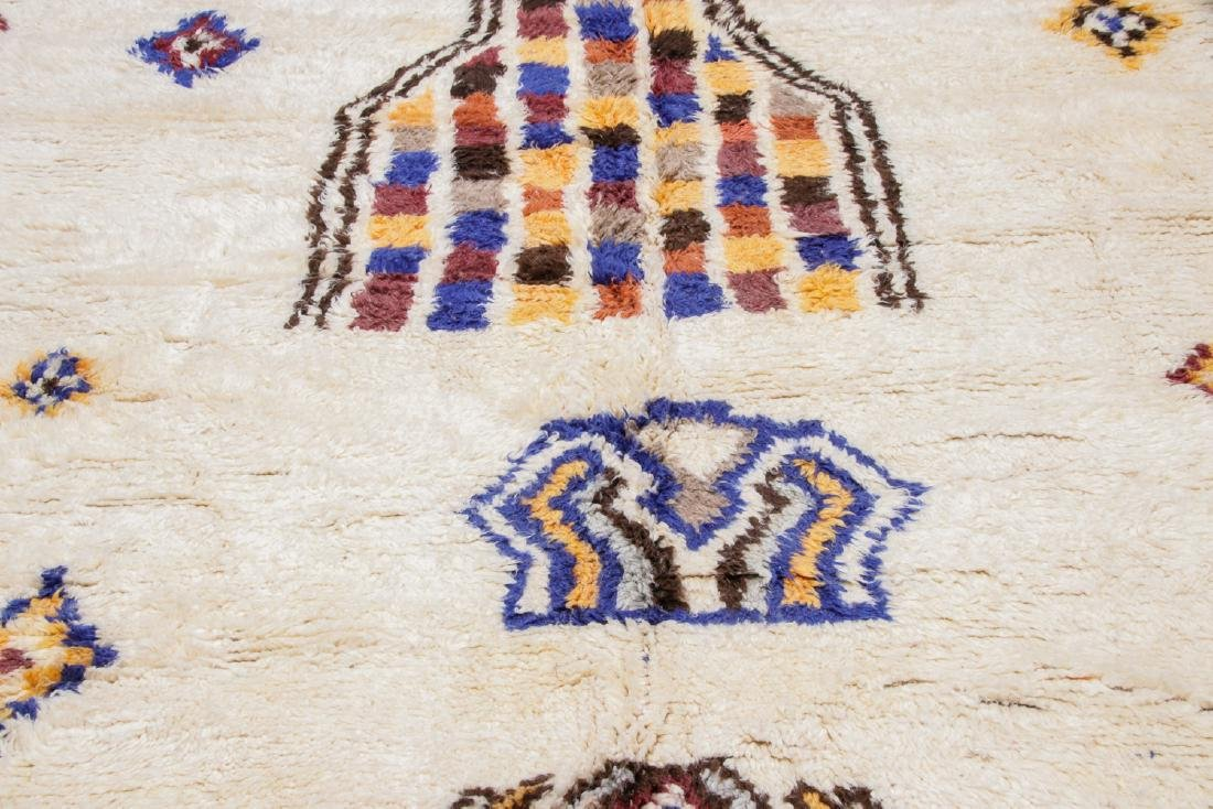 Vintage Moroccan Rug, Morocco: 8'5'' x 11'9'' - 6