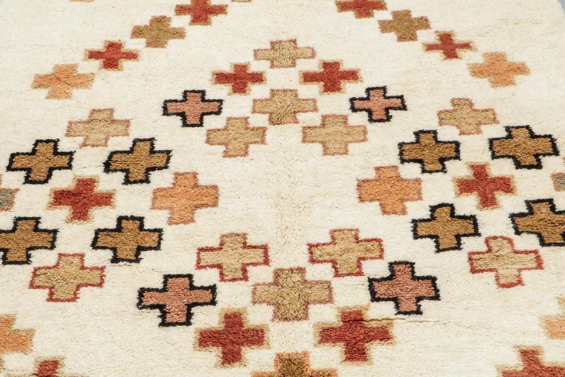 Modern Beni Ourain Rug, Morocco: 5'1'' x 8'2'' - 6