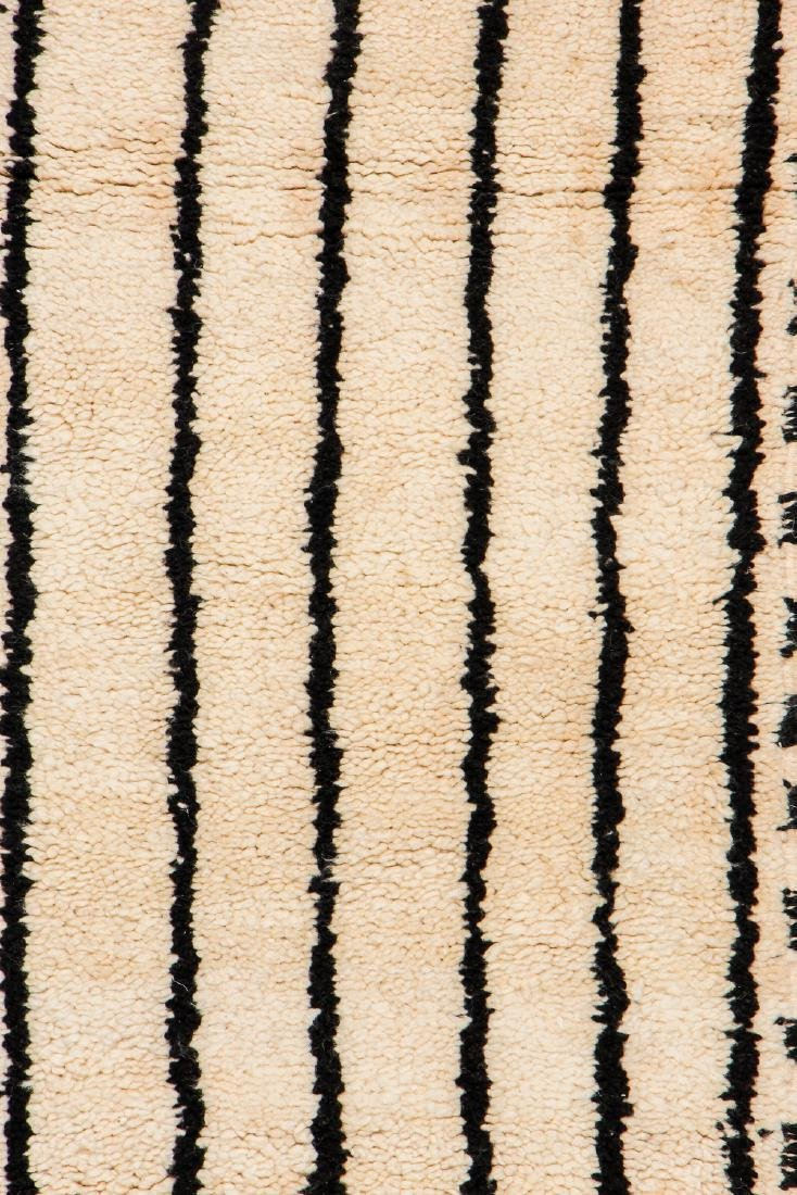 Modern Beni Ourain Rug, Morocco: 1'10'' x 7'10'' - 2