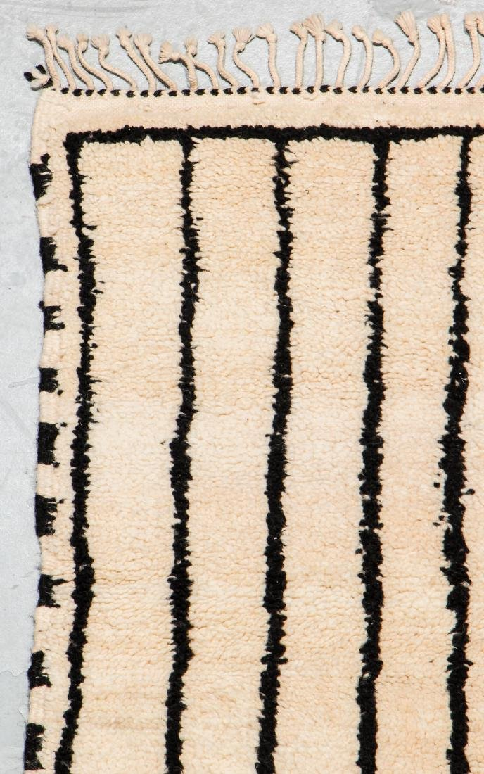 Modern Beni Ourain Rug, Morocco: 1'10'' x 7'10'' - 3
