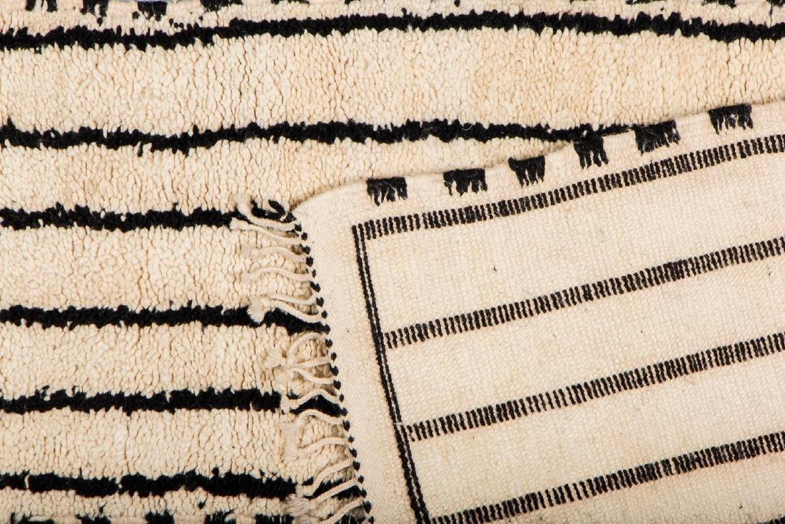 Modern Beni Ourain Rug, Morocco: 1'10'' x 7'10'' - 4