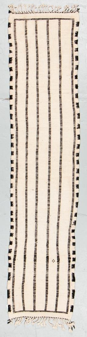 Modern Beni Ourain Rug, Morocco: 1'10'' x 7'10'' - 7