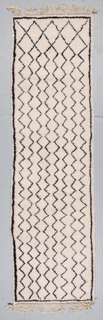 Modern Beni Ourain Rug, Morocco: 2'11'' x 9'10''