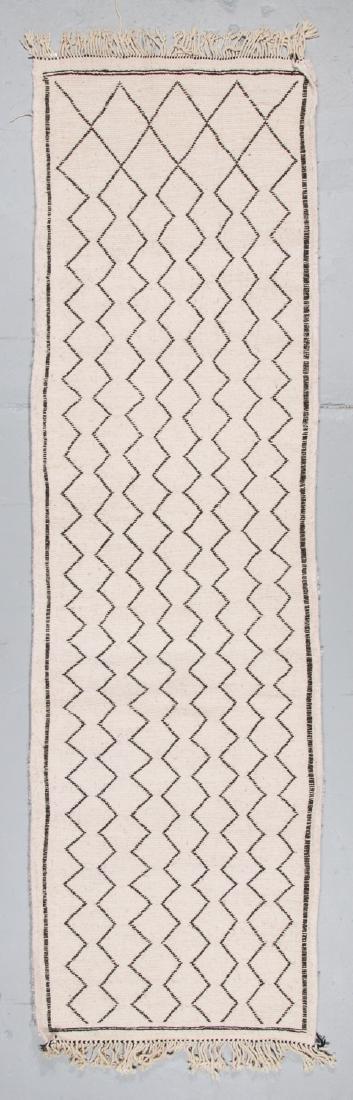 Modern Beni Ourain Rug, Morocco: 2'11'' x 9'10'' - 7