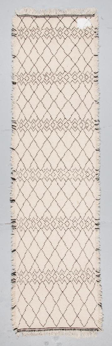 Modern Beni Ourain Rug, Morocco: 2'7'' x 9'10'' - 7