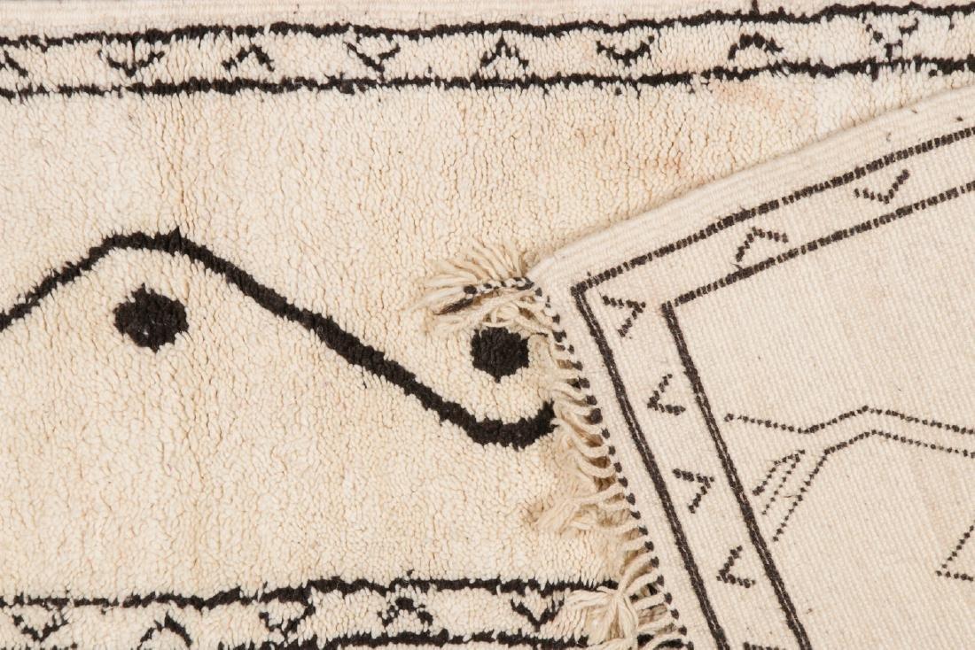Modern Beni Ourain Rug, Morocco: 2''' x 8'3'' - 4
