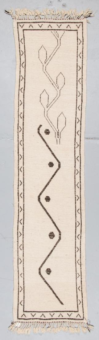 Modern Beni Ourain Rug, Morocco: 2''' x 8'3'' - 7