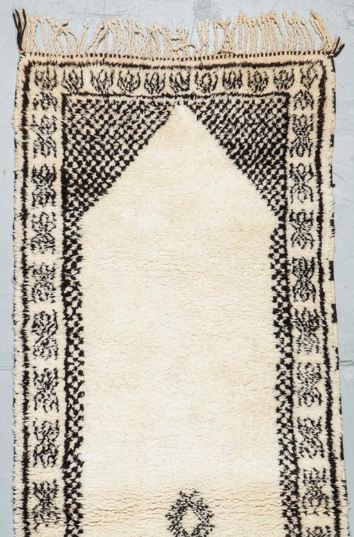 Modern Beni Ourain Rug, Morocco: 8'4'' x 2'11'' - 2