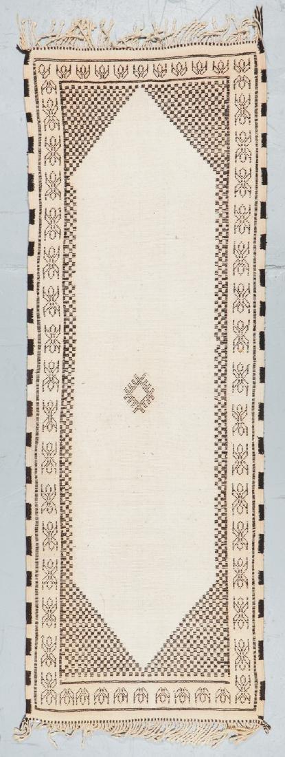Modern Beni Ourain Rug, Morocco: 8'4'' x 2'11'' - 7