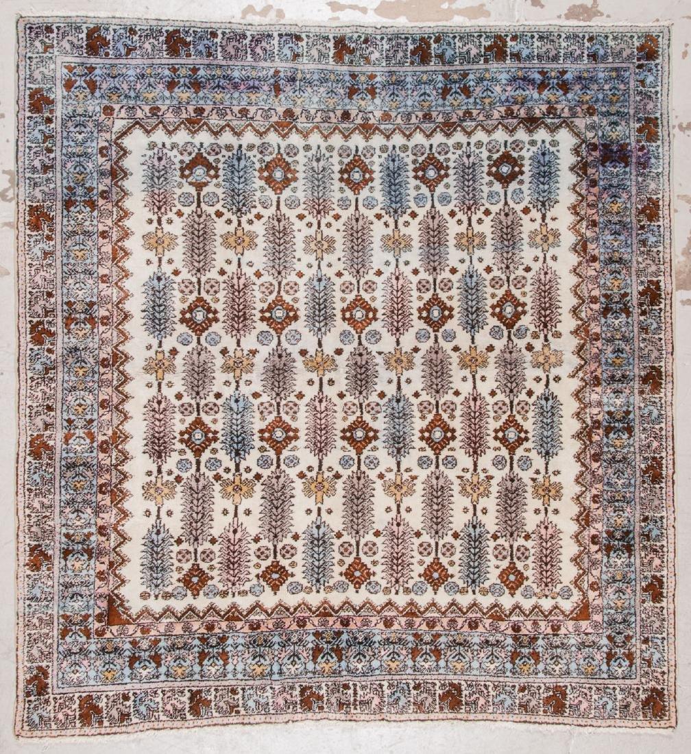 Vintage Moroccan Rug: 7'7'' x 8'0''