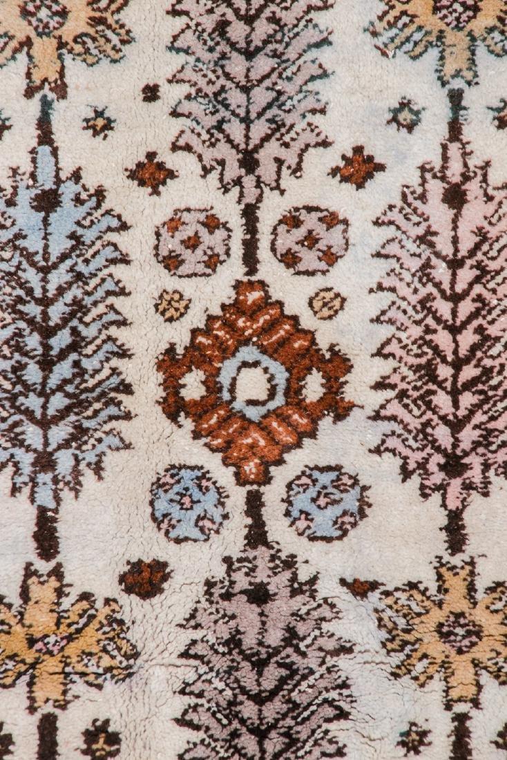 Vintage Moroccan Rug: 7'7'' x 8'0'' - 2